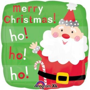 "Шар ""Санта с Рождеством"" 46 см"