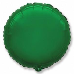 """Шар """"Круг"""" зеленый 46 см"""