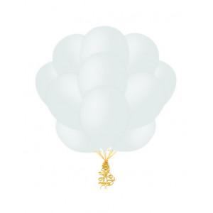Облако прозрачных шариков